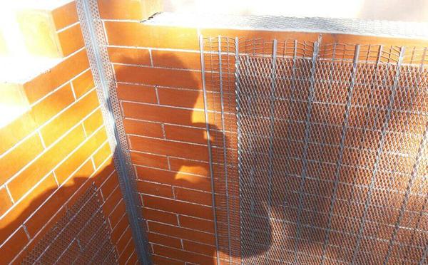 镀锌砖带网案例